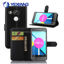 Wallet Flip PU Leather Phone Cover for LG Nexus 5 Case Flip Case Cover