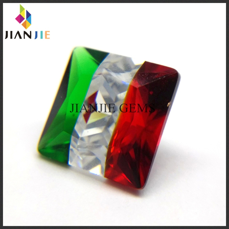 Jewelry making Multicolor Gemstone bead Cubic Zirconina