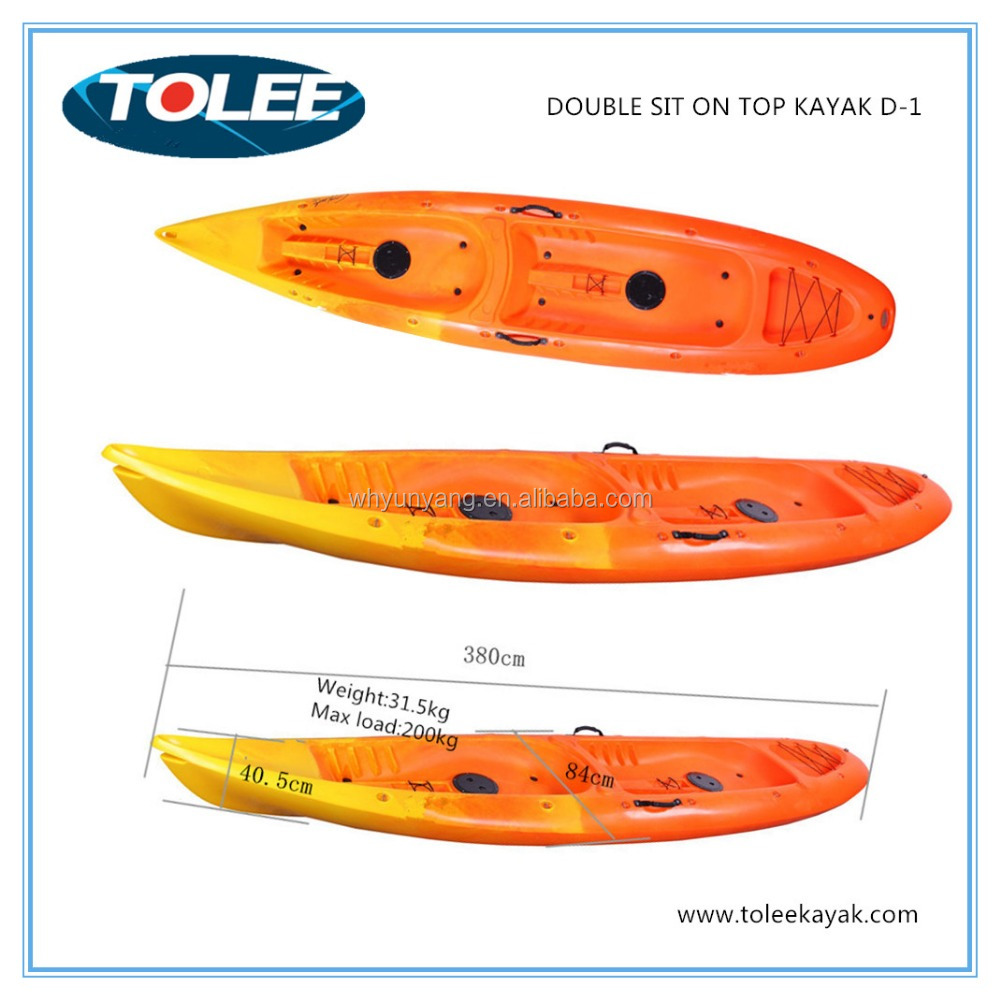 2017 new cheap doule kayak canoe/kayak