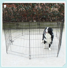 Portable Wire dog fence Scalable folding DIY dog cage