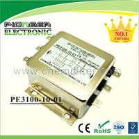 5A-200A PE3100-10-01 general purpose apply control cabinet 3 phase emi three line filter