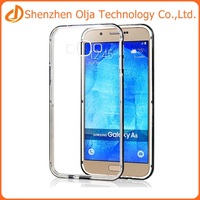 Olja tpu pc cover case for samsung A8,for samsung A8 clear case