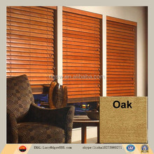 Unique design outdoor wooden blinds with luxury wooden blinds slat