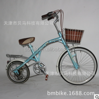 20-inch fishing bike ms 6 speed after turn handle change