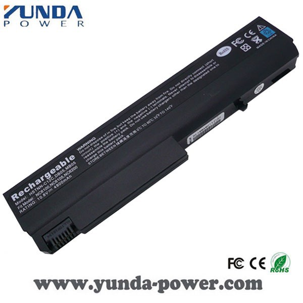 High Quality Replacement Battery for HP NC6100 NC6105 NC6110 NC6115 NX6100 X6105 NX6110 NX6115 NX6120 NX6125