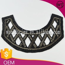 Ladies dress collar pattern design WTA77
