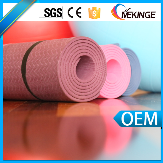 New products eco friendly TPE Yoga mat
