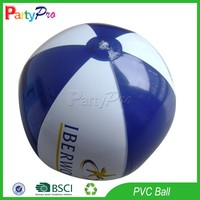 Partypro Alibaba China Supplier New 2015 Promotional Small Clear PVC Inflatable Beach Ball