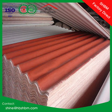 high strength MGO anti-corosion fireproof insulated roofing sheet better than copper colored metal roof