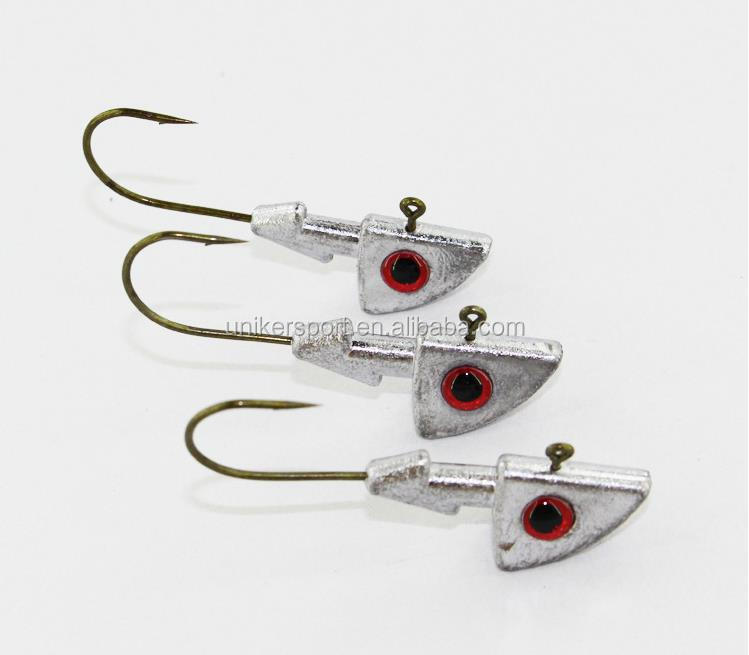 jighead hook quality lead jig head different sizes wholesale