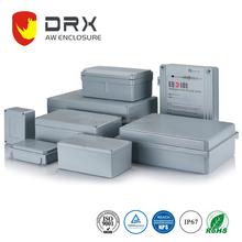 AL Waterproof metal electronic battery box extrusion enclosure