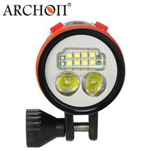 ARCHON W43VP underwater video camera lights scuba diving 5000lm