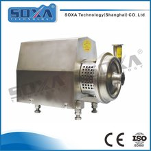 Stainless steel sanitary centrifugal dairy milk pump