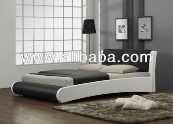 Torino PU Bed / Leather Bed / Bedroom Furniture