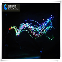 CE&ROHS Hot Selling led wireless christmas tree lights for Xmas day party and wedding