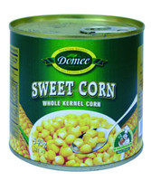 Canned yellow sweet corn