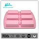 6 grid FDA approved silicone 3d nail mold flexible silicone mold the cakes lace