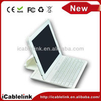 360 Degree rotating bluetooth keyboard with case for ipad 2 tablet pc