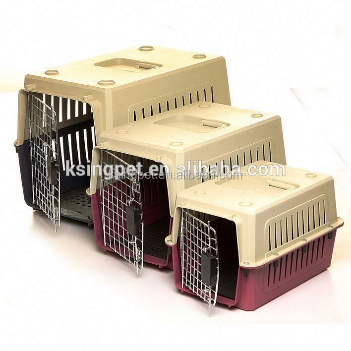 folding pet carrier plastic