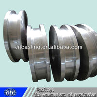 Mining parts CNC machined forged steel wheels/hub
