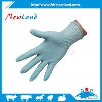 NL1007 high quality nitrile gloves for veterinary use