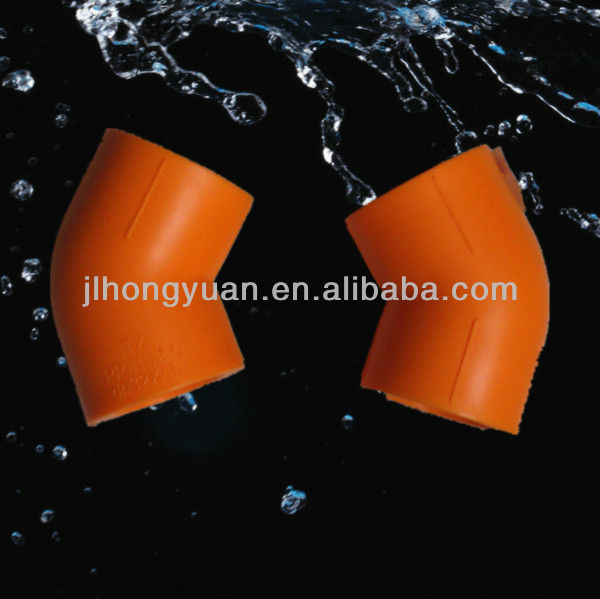 Plastic 45 Elbow PPR fittings Specification 20mm,25mm,32mm,40mm,50mm,63mm