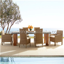 2018 Most popular outdoor furniture cheap seaside rattan daybed for sale