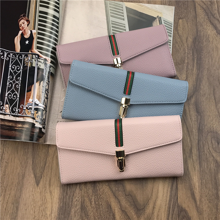 2017 new model wallet women hot sale lady purse