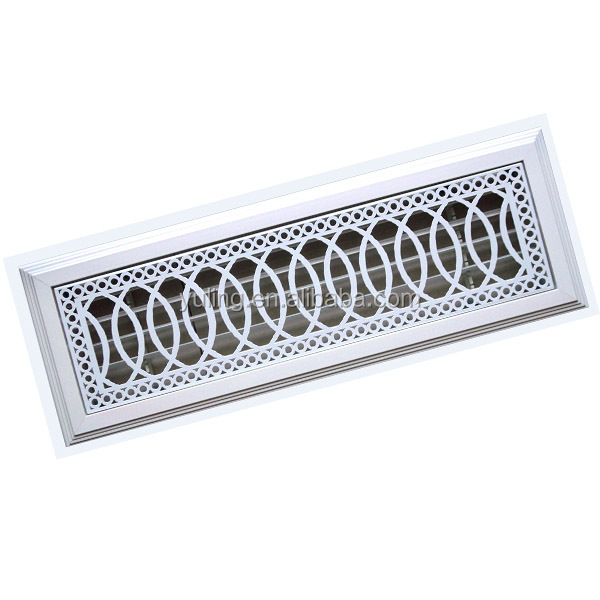 Detachable heating and cooling radiator parts air vent