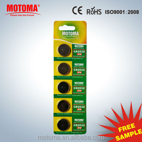 cr2032 button cell,LiMnO2 Battery Type cr2032