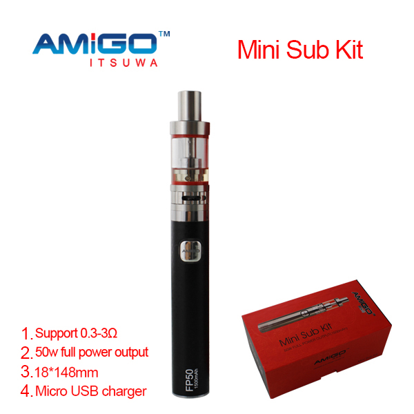 2015 Amigo Ego Twist itsuwa Electronic Cigarette Ego One E Cig Passthrough Battery