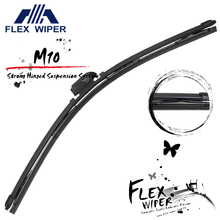 2016 M10 New Hybrid Soft Car Wiper Blade Arrives! Intensive Hinges and Arms Design + 15 wiper arm application!!
