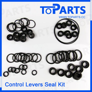 Excavator 320CL 320DL hydraulic control levers seal kit, repair kits