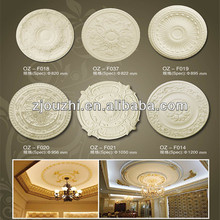 New-style pu ceiling medallion and ceiling lamp holder for home decor