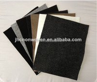Make-to-order needle punched polyester nonwoven speaker felt