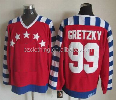 Wayne Gretzky #99 All Star Ice Hockey Jersey