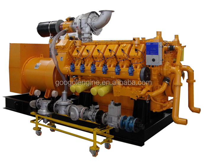 Googol 800kW 60Hz Methane Gas Engine Generator