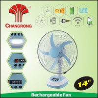 2016 new china solar powered outdoor fans with 5 speed timer function