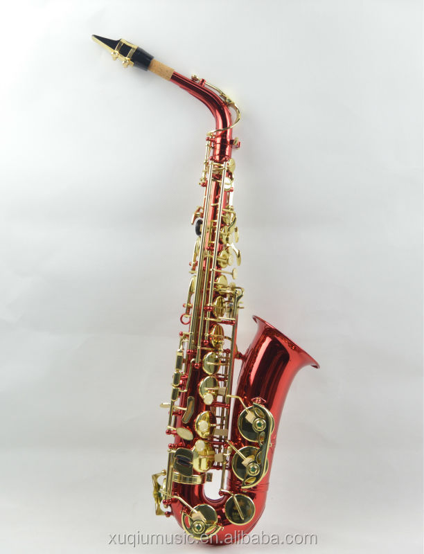 Colored Alto Saxophone for women