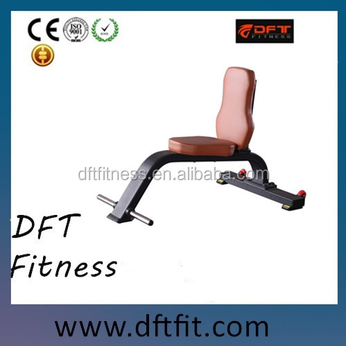 DFT-638 Utility Bench, professional and commercial Fitness equipment, the best seller product, Body Building, Gym Use.