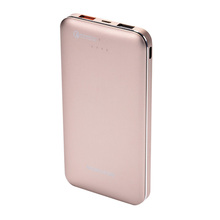High quality cheap portable battery phone 10000mah power bank with customized logo