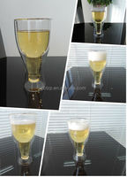 Borosilicate Double wall Glass Beer Glass / novelty beer glass