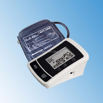 digital sphygmoma medical measuring devices large LCD display High Quality blood pressure monitor