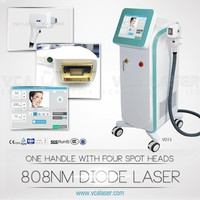 2016 New Design 2016 hot sale 808nm diode laser hair removal machine /hair removal speed 808