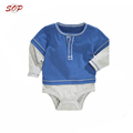 Professional garments manufacturer long sleeve infant clothing baby rompers