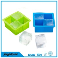 durable hot sale silicone ice cream molds,silicone ice cube trays custom logo printing