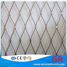 316 /304 Stainless Steel Cable Rope Mesh Fence