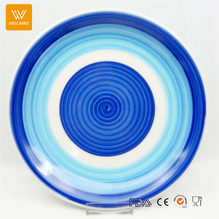 wholesale restaurant dinner plates/ceramic microwave dish plate/dinner set custom shape plate