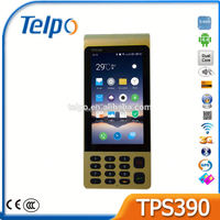 China fanless touch pos system TPS390