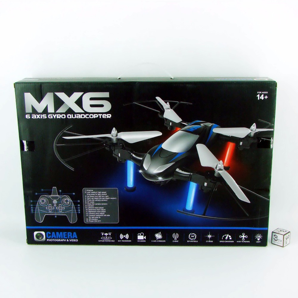 TOYZ height keeping flight RC drone with wifi camera sky flyer